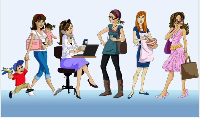 Bancuri Seci - Specii cunoscute de femei